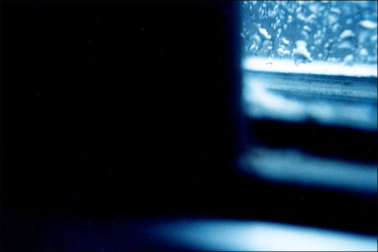 Blue 12, color photograph, 2002, by Libby Saylor, The Goddess Attainable