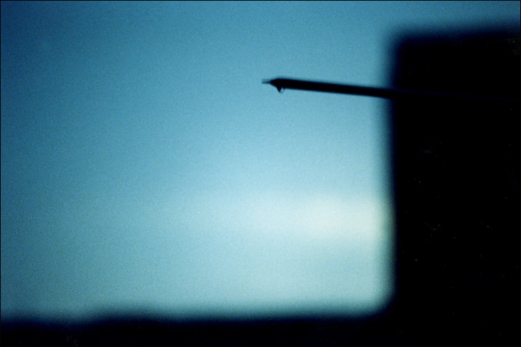 Blue 7, color photograph, 2002, by Libby Saylor, The Goddess Attainable